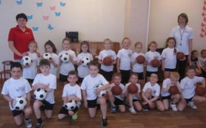 Соревнования по мини-баскетболу среди воспитанников дошкольных учреждений
