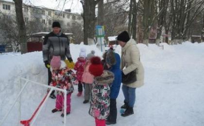 Квест – игра « Зимние забавы»